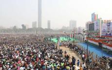 نصف مليون شخص يتظاهرون ضد رئيس وزراء الهند