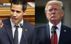 ترامب يدعو الرئيس الفنزويلي للتنحي و يعلن اعترافه بزعيم المعارضة رئيسا انتقاليا للبلاد