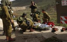 إصابة ضابط وجنديين في انقلاب جيب على حدود شمال غزة
