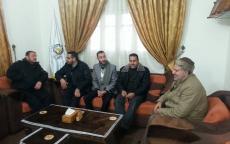 النائب الأشقر يلتقي مدير مركز شرطة بيت لاهيا
