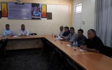 المجلس المركزي الأعلي لأولياء الأمور -قطاع غزة  يلتقي مع  مدير برنامج التربية والتعليم -وكالة الغوث -قطاع غزة