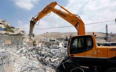 الاحتلال يهدم منزلًا قيد الإنشاء بالقدس المحتلة