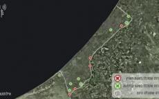 شاهد: جيش الاحتلال ينشر فيديو لقصف نفقين للمقاومة في بيت حانون ورفح