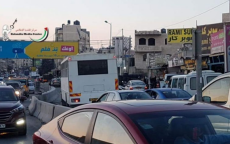 مواجهات في قلنديا إثر دخول حافلة لقوات الاحتلال