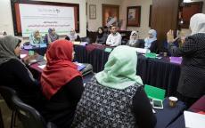 مركز شؤون المرأة يعقد تدريباً حول