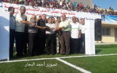 بحضور هنية. افتتاح ملعب ناصر البلدي في خانيونس بحضور واسع