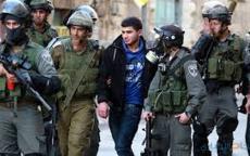 اعتقال ثلاثة مقدسيين بزعم إحراق أعلام الاحتلال