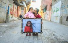 فرحة في غزة بسبب