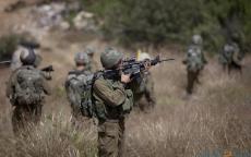 الاحتلال يجري تدريبات عسكرية في خربة الطويل