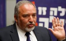 ليبرمان: حكومة نتنياهو ناشدت مصر لتهدئة حركة حماس