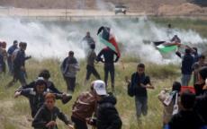 الاحتلال يهدد بقصف مقرات لحماس حال استمرت مسيرات العودة