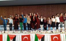 الجالية الفلسطينية في إسطنبول تحيي الذكرى الـ70 للنكبة