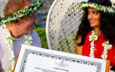 صور: سلمى حايك تحتفل بزفافها