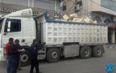 الشرطة تطلق حملة لمتابعة الشاحنات ذات الحمولات الخطيرة في الخليل