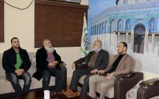 النائب نصار يلتقي مدير هيئة الاغاثة الانسانية والحريات التركية