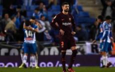 رابطة الليجا تشتكي إسبانيول بسبب أحداث مباراة برشلونة