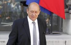 وزير خارجية فرنسا يصل إسرائيل