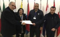 الشبكة تسلم مذكرة للاتحاد الأوروبي بشأن اجتماع لجنة الارتباط الخاصة بدعم الشعب الفلسطيني AHLC