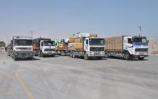 فيديو: عشرات المستوطنين يمنعون إدخال الشاحنات لغزة عبر كرم أبو سالم