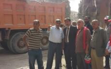 إزالة 50% من ركام مخيم اليرموك