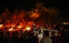 اربع اصابات بالرصاص الحي وآخرين بالاختناق.. وحدة الارباك الليلي تبدأ مشاغلتها للاحتلال شرق قطاع غزة