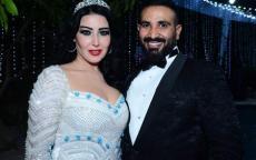 هل سمية الخشاب حامل من زوجها أحمد سعد؟