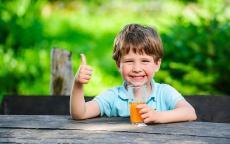 9 مشروبات مغذية للطفل