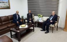 د. أبو هولي يلتقي رئيس المجلس الوطني سليم الزعنون