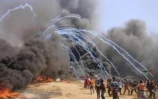 جمعة (الثبات والصمود).. ثلاثة شهداء واصابة 376 مواطناً بجراح مختلفة شرق قطاع غزة
