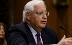 فريدمان: قريبا سنرى الفلسطينيين والإسرائيليين يتعلمون معاً ويعملون سوياً
