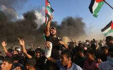 غـزة تُشيع جثامين 7 شهداء ارتقوا في جمعة انتفاضة القدس