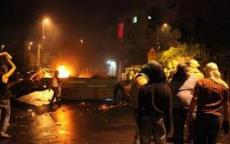 اصابة شابين بجروح متوسطة بدعسهم من قبل الاحتلال