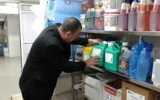 بلدية غزة تتلف 18 طنا من الأغذية الفاسدة خلال مارس الماضي