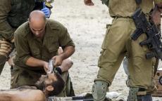 محدث بالصور..شهيد في قصف إسرائيلي وسط قطاع غزة بعد إصابة ضابط برصاص قناصة على الحدود