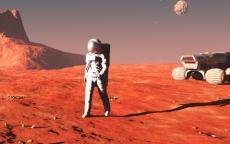 الصور الأولى لسفينة الفضاء التي ستقل البشر إلى المريخ