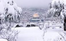 منخفض جوي عميق غداً الأحد وثلوج تصل فلسطين يوم الأربعاء