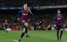 شاهد.. نجم برشلونة الجديد يعادل رقم ميسي بهدف