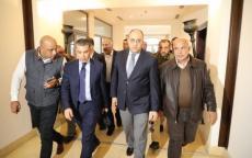 وصول الوفد الأمني المصري لقطاع غزة