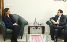 رئيس الاحصاء الفلسطيني يستقبل السفير الأردني لدى دولة فلسطين
