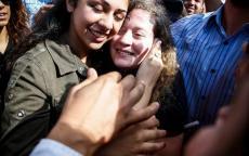 البرديني يقدم التهاني لعائلة التميمي وللشعب الفلسطيني بحرية أيقونة فلسطين عهد التميمي