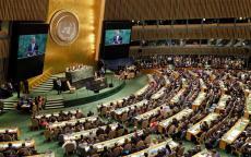 الجمعية العامة للأمم المتحدة تصوت بالأغلبية على منح فلسطين صلاحيات إضافية لرئاسة مجموعة 77 + الصين