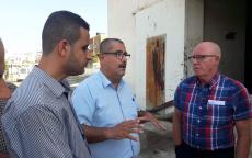 بلدية غزة تطلع وفدا أمميا على انعكاس أزمة الكهرباء على محطات الصرف الصحي