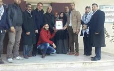 محافظ غزة يشيد بجهود مفوضية الأسرى والمحررين في دعم قضية أسرانا