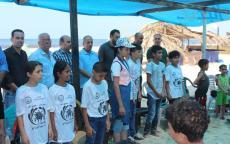إقليم شرق غزة يتفقد المخيمات الصيفية للأشبال والزهرات .
