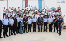 اللواء حازم عطا الله يختتم فعاليات النادي الصيفي الثالث لابناء الشرطة ( نادي الشهيد العقيد نزال نمر نزال)