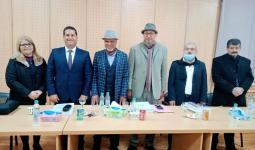 تونس تمنح الباحث الفلسطيني أحمد حمودة درجة الدكتوراه في الاعلام