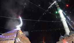 إضاءة فانوس رمضان في الزبابدة جنوب جنين