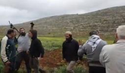 مستوطنون يهاجمون عينابوس ويشعلون النار في أراضي زراعية جنوب نابلس