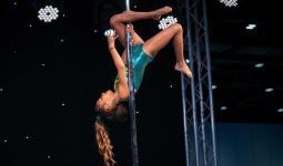 صافيا بارافيا بطلة جمباز على مستوى عالمي