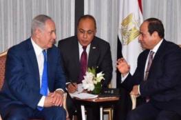 موقع عبري يكشف رسالة السيسي الى نتنياهو بالوقف الفوري للعدوان على غزة